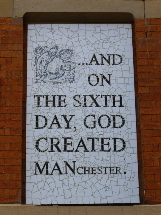 MANCHESTER - Not really travels, as it is my home, and I love it!