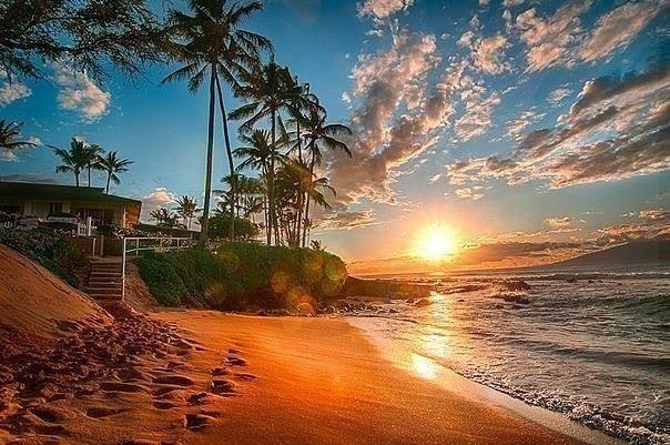 Пляж острова Мауи, Гавайи