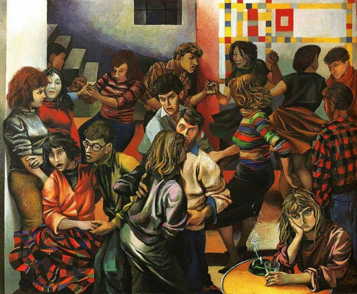 Boogie Woogie, 1953 - Renato Guttuso