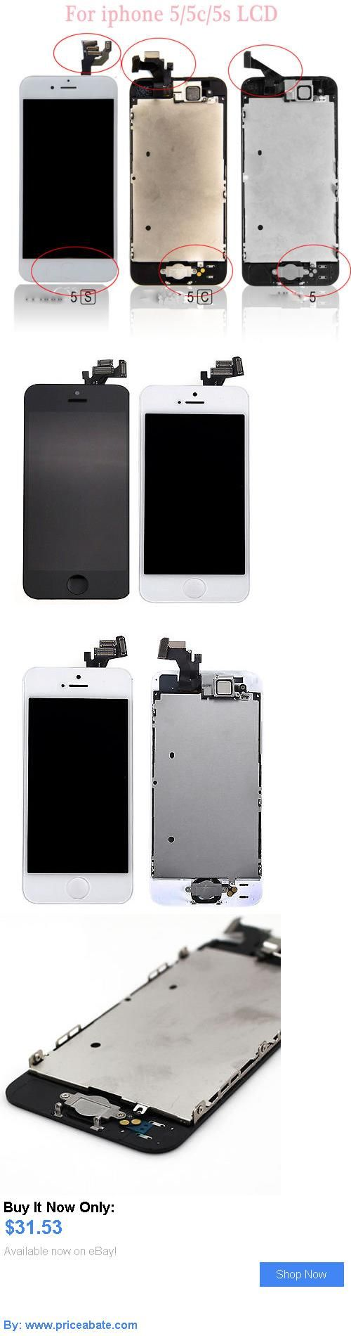 general for sale: Oem Lcd Display Touch Screen Digitizer Assembly Replacement For Iphone 5 5S 5C BUY IT NOW ONLY: $31.53 #priceabategeneralforsale OR #priceabate
