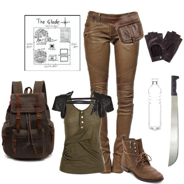 gorgeous maze runner outfit polyvore girls