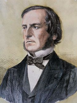 George Boole: (1814 – 1864) was an English mathematician, educator, philosopher and logician. He worked in the fields of differential equations and algebraic logic, and is best known as the author of The Laws of Thought which contains Boolean algebra. Boolean logic is credited with laying the foundations for the information age