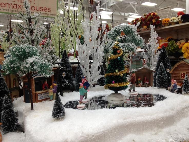 Christmas Lemax Display 2012 Lemax Displays Michaels