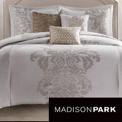 For guest bedroom, queen: Madison Park Randall 7 piece Comforter