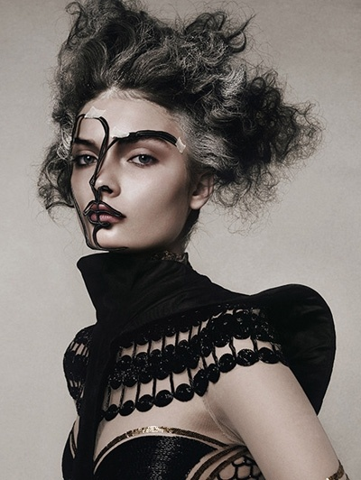 Face Project I, 2007 © Tina Berning and Michelangelo Di Battista/Camera Work Gallery, BerlinItalian Vogue, Inspiration, Michelangelo Di, Steven Meisel, Dark Beautiful, Irving Penne, Fashion Photography, Baptist, Futuristic Makeup