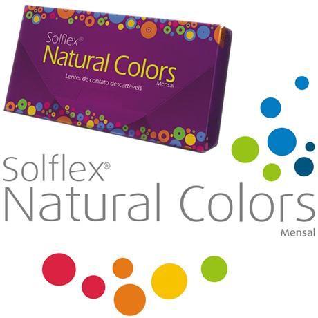 Compre Solótica : Lentes de Contato SOLFLEX NATURAL COLORS - COM GRAU por R$55,00 - e-Lens