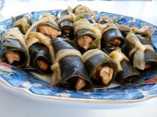 Taryn's Food Blog: Konbu Maki (Seaweed Wrapped Chicken)