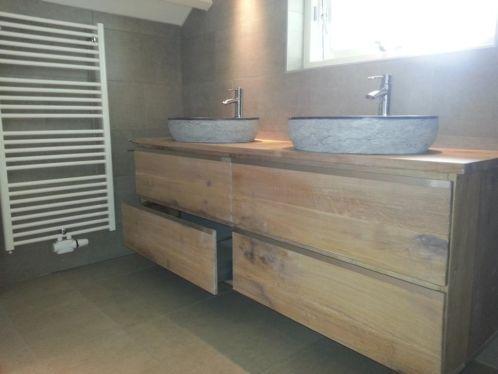 Badkamer meubel hout google search idee n voor het huis pinterest - Meubel design badkamer ...