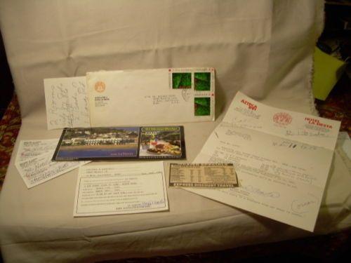 Azteca Inn Hotel La Siesta Mazatlan Mexico Stamps Postcard Letters 1990 Vintage | eBay