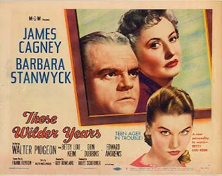 These Wilder Years (1956) Barbara Stanwyck, James Cagney, Betty Lou Keim, Don Dubbins, Walter Pidgeon