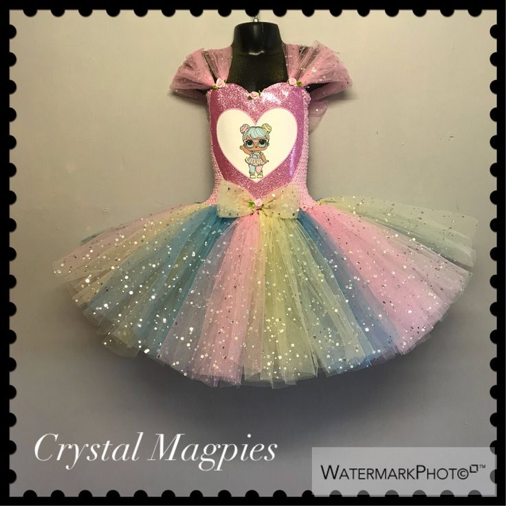This beautiful and unique tutu dress is perfect for your little princess who lov… – laila 7th bday