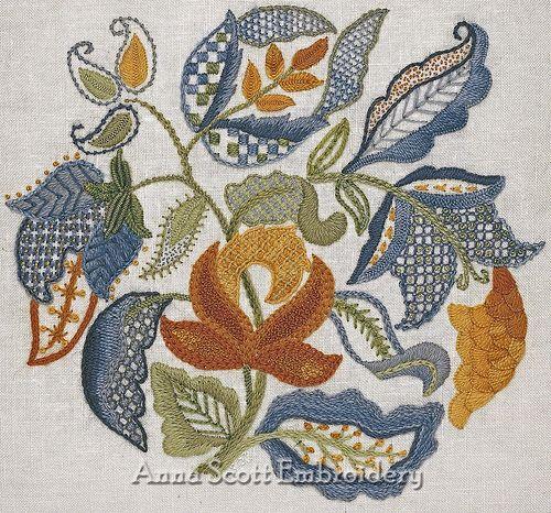 Jacobean Leaves
