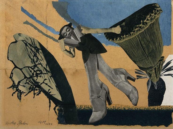 Hannah Höch, Lustige Person, 1932.