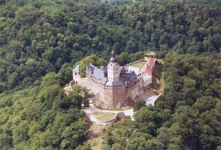 Burg Falkenstein, Germany. I've been to this castle so many times I could walk it blind folded.
