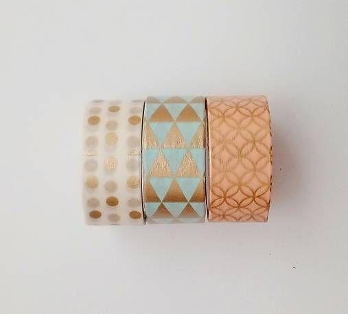 natvorenie / washi pásky - 3x 3m