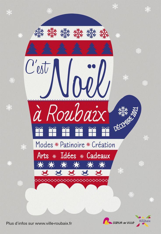 C'est Noël à Roubaix 2011 © création Amandine Derachinois - Ville de Roubaix