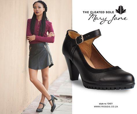 Froggie shoes | mary jane shoes | heels | feminine shoes | black shoes | comfort | ladies shoes