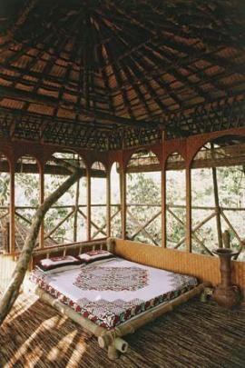 Tree house at Green Magic Nature Resort, Kerala, India