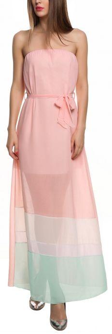 The Boy Is Mine Maxi Dress - Pink