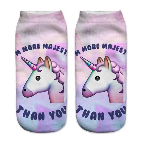 I'm more majestic that you socks