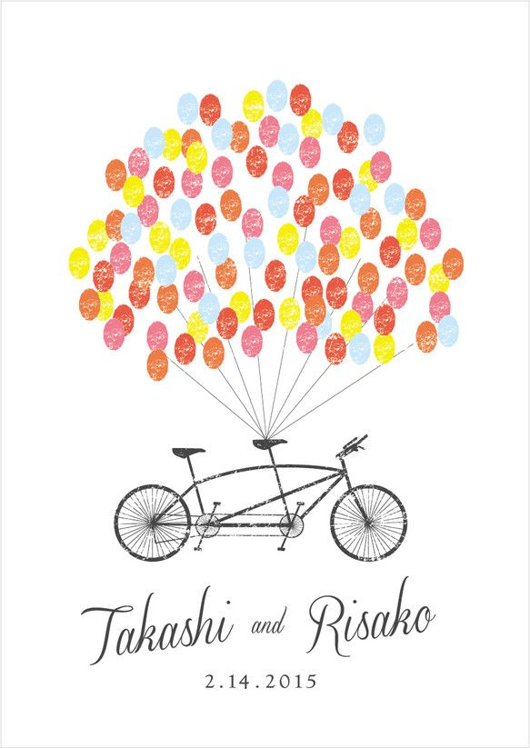 【セミオーダー】wedding tree tandem bike
