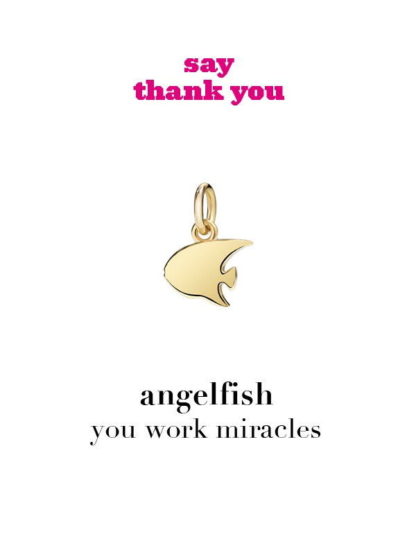 Dodo charm: angelfish - you work miracles