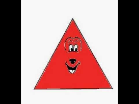 La chanson des formes : Monsieur carré a quatre côtés - Paroles illustrées