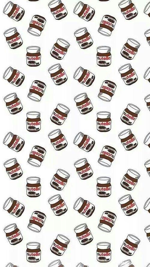 Imagem de nutella, wallpaper, and background