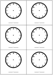 Tips on helping kids read time to the half hour