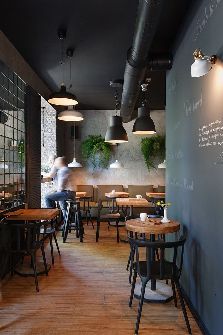 I Feel espresso bar, Kryvyi Rih, 2015 - Azovskiy & Pahomova architects.  Modern Restaurant DesignLuxury RestaurantRestaurant InteriorsCafe ...