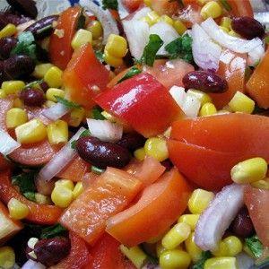 Зимний овощной салат рецепт – салаты с фасолью, вегетарианская еда: салаты. «Афиша-Еда»