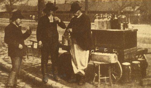 Mozgó szikvízárus 1911