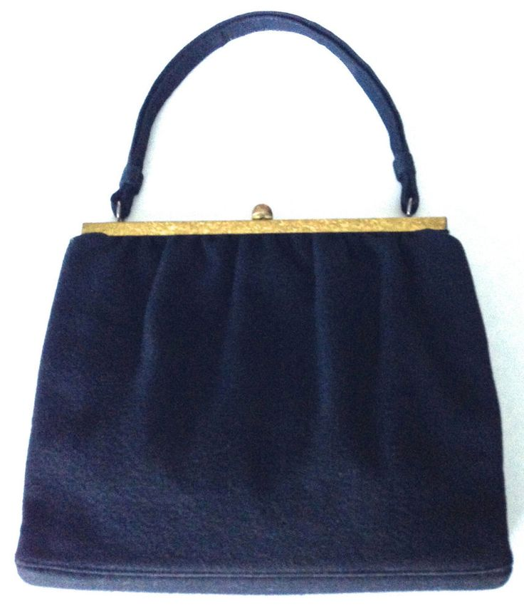 Vintage 1950 39 S Wool Handbag Perfect Love This