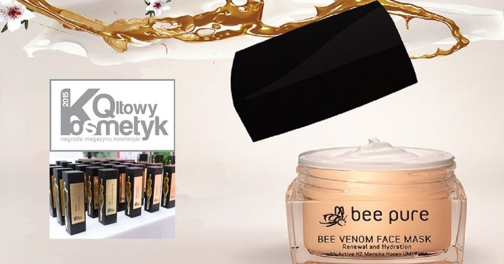 Nagroda Qltowy Kosmetyk dla maseczki do twarzy Bee Pure Bee Venom Face Mask - BeeYes