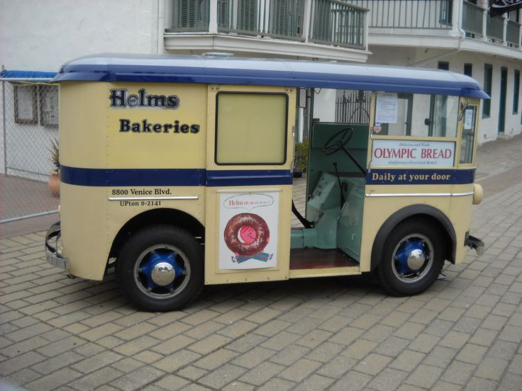 Helms trucks were a common site going down our street in