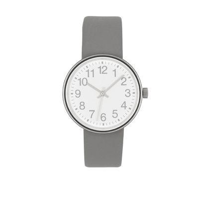 muji watch light grey