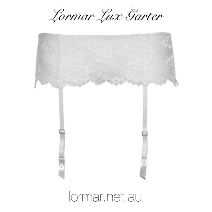• Lormar Lux Garter Belt - Buy Online at lormar.net.au •