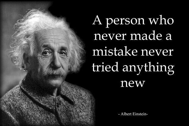 Albert Einstein   Try something new! #ThriveNation #Inspiration #Quotes Thrive15.com