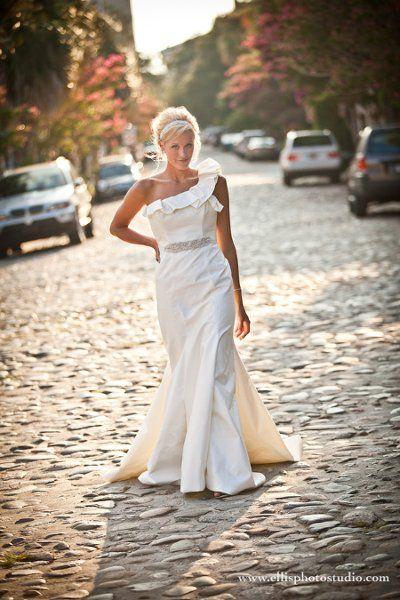Bridal Portraits Wedding Hair Photos on WeddingWire