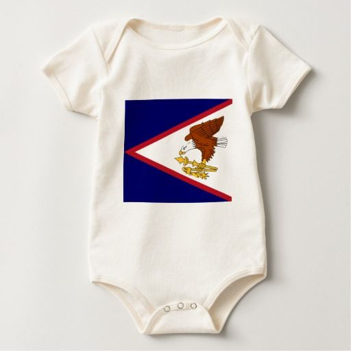 American Samoa Island baby grow