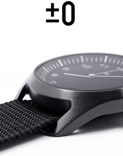 minimalist wristwatch. plusminuszero – Naoto Fukasawa