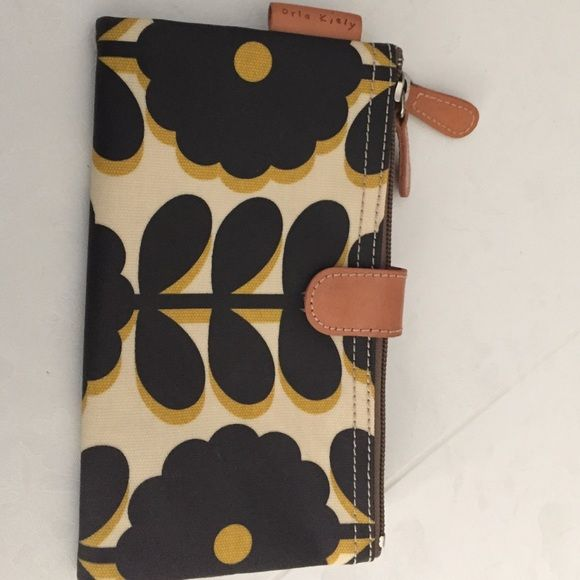 Orla Kiely wallet Coated canvas and very spacious Orla Keily Bags Wallets