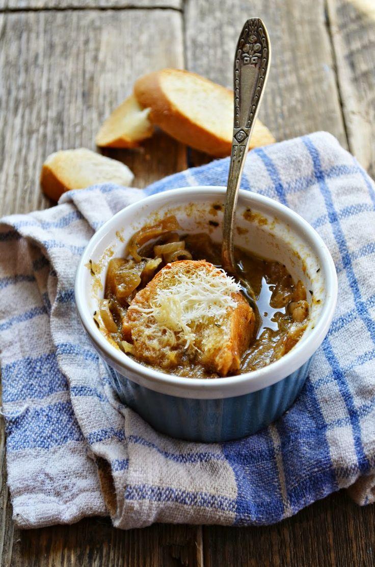 Zupa cebulowa (Kuchnia w zieleni)