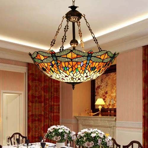 867 Best Living Room  Dining Room Combined Images On Pinterest Interesting Stained Glass Light Fixtures Dining Room Decorating Design