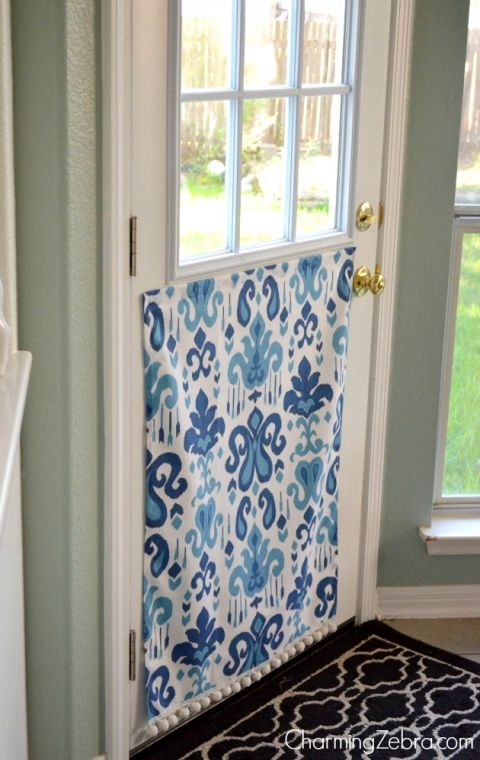 tutorial for magnetic window blind, Charming Zebra on Remodelaholic