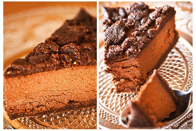 Chocolate Cookie Dough Fudge Cake (no bake) | Kung Markatta - kungen av ekologiskt Choklad, kakdeg, lite mer choklad, nötter... den här fudge-liknande kakan går snabbt att svänga ihop, ger minimal disk då du med lätthet kan köra både botten och fyllning i samma mixer, samt är hälsosam. Liksom win-win-WIN!