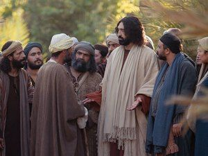 Free visuals for A rich young man questions Jesus When a ...