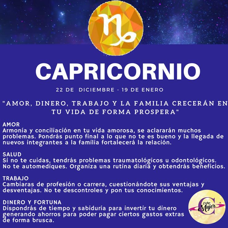#capricornio  #Amor #love #work #Trabajo #Dinero #Money #health #salud #horoscope #horoscopo