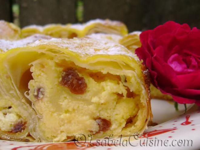 Rețetă Desert : Placinta cu branza dulce de Isabela