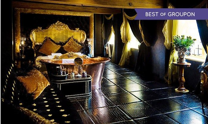 Hotel Break for Two with Premium Champagne and Breakfast at The Crazy Bear Beaconsfield from £159 (52% off)
